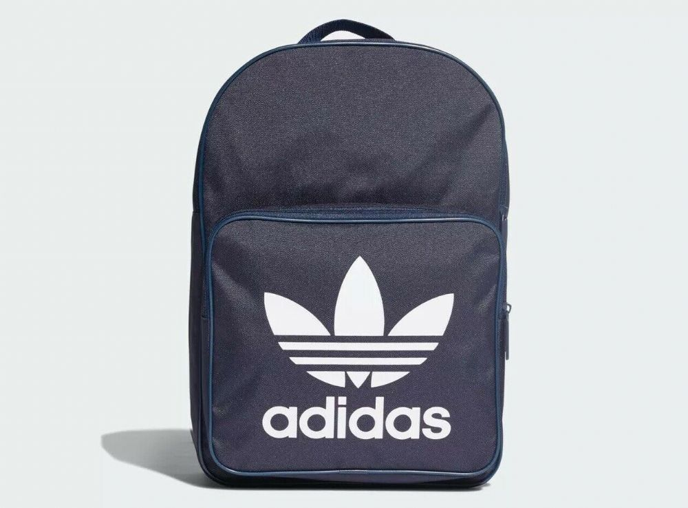 adidas Classic Backpack Rucksack Work Travel Gym School Bag Navy DW5189 BNWT